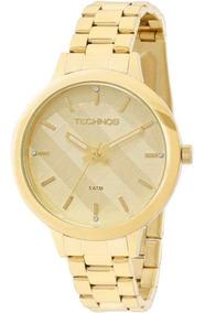 Relógio Feminino Technos Trend 2036mes/4d Pulseira Aço