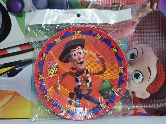 Toy Story Vasos Plato Mantel Buzz Fiesta Infantil Woody