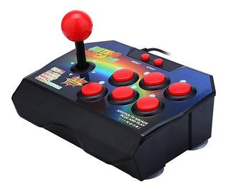 Consola Retro Arcade 16 Bit Joystick Clasica Stick 145 Juego