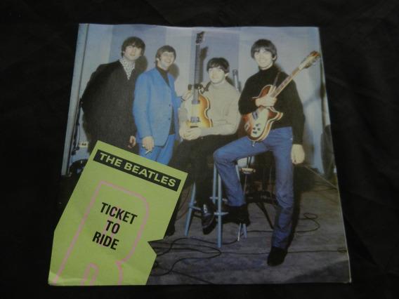 Beatles Lp 7 Ticket To Ride Ukn 1985 Con Envio Gratis