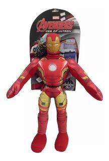 Muñeco Soft Iron Man Con Sonido Int Dny 511920 New Toys