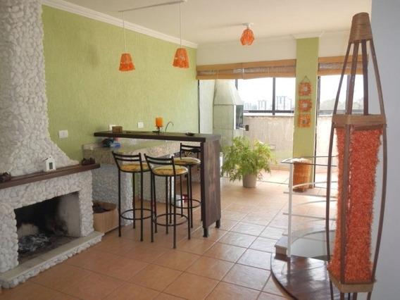 Linda Cobertura Duplex 146 M² C/ Suíte - Varanda Gourmet - 350