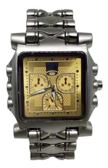 Relógio Oakley Tank Minute Machine - Dourado
