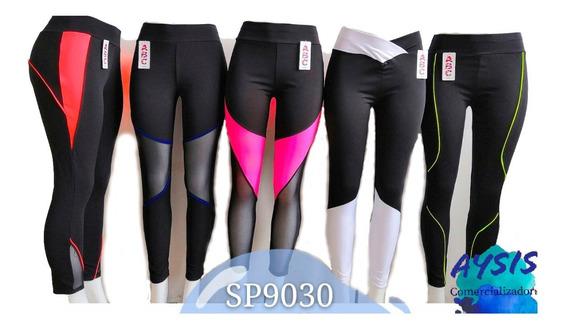Malla Legging Importada De Licra Para Dama Paquete De 10 Pzs