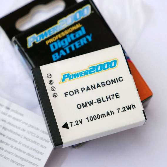 Bateria Panasonic Blh7 1000mah Para Gm1 Gm5 Gf7 Gx850 Lx10