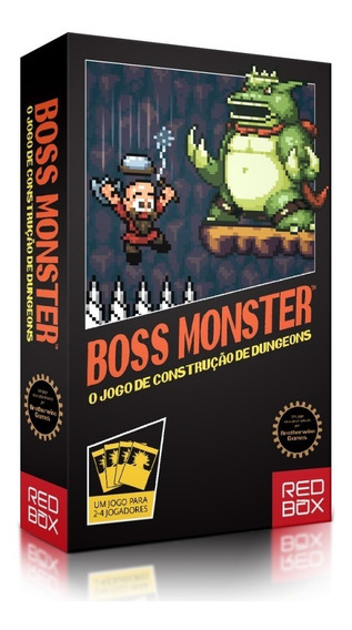 Card Game Boss Monster O Jogo De Construção De Masmorras Pt