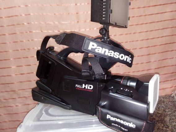 Filmadora Profissional Panasonic