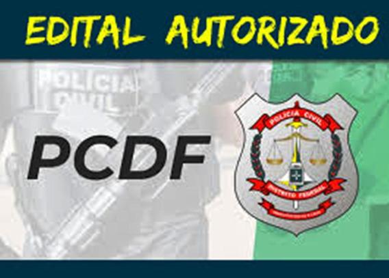 Concurso Agente De Polícia 2020 - Pc Df