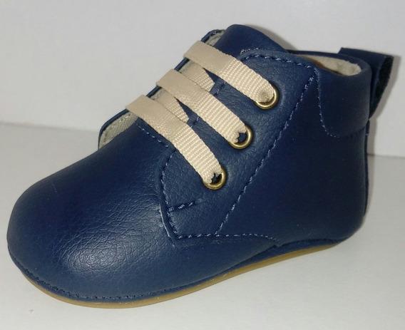 Sapato De Bebê Menino Super Fácil De Calçar E Confortável