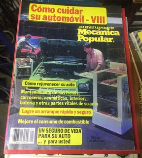 Revista Mecánica Popular Viii - 1982 (semestral)