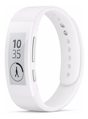 Sony Smartband Talk Swr30 Smartwatch Fitness Fit Blanco