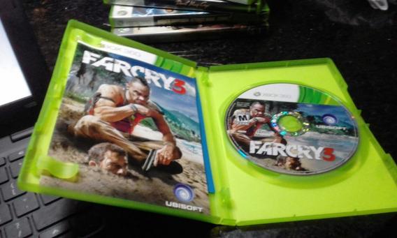 Xbox 360 Original Farcry 3 Midia Fisica Semi Novo C Manual
