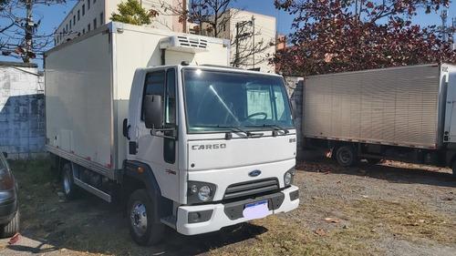 Imagem 1 de 8 de Ford Cargo 816 15/15 Baú Refrigerado Para Menos 10 Graus