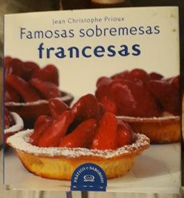 Livro Culinaria Receitas De Doces Franceses. Perfeito Estado