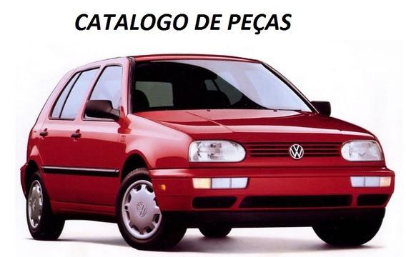 Catálogo Peças Volkswagen Golf Mk3 1.8 2.0 Anos 1994 - 1998