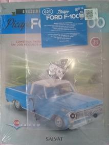 Fascículo Ford F 100 1/8 Salvat Edições 21/ 22 Lacrados Cada