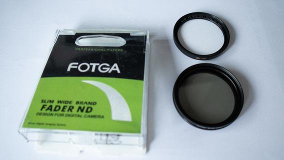Filtro Fotga 43mm Variável + Filtro Uv B+w