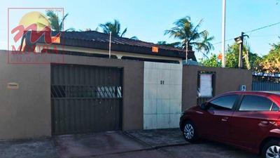 Casa Com 3 Dormitórios À Venda, 160 M² Por R$ 155.000 - Brasil Novo - Macapá/ap - Ca0480