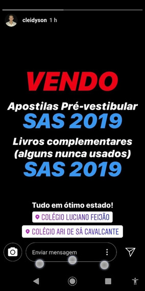 Apostilas Pré Vestibular Sas 2019