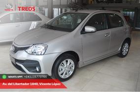 Toyota Etios Xls 5 Puertas At 0km
