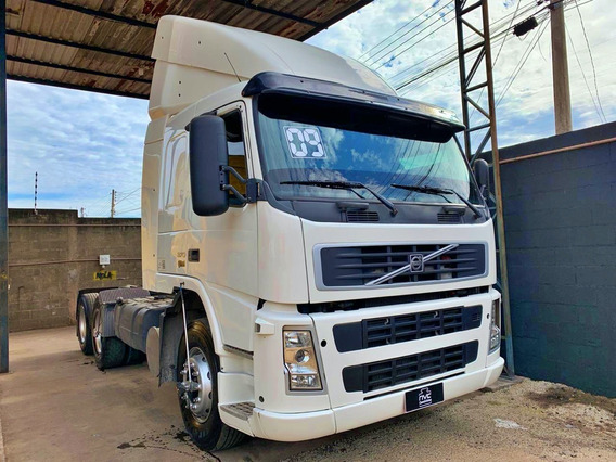 Volvo Fm 370 6x2 Trucado 2009 Manual = Fh G380 P340 1933 Vw