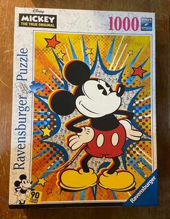 Ravensburger Retro Mickey Mouse 1000 Piezas Puzzle