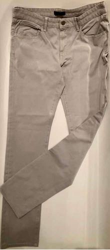 Pantalon Jean Beige Uniqlo  Talle 32x 34 Us