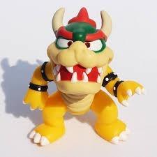 Koppa Bowser Boneco Super Mario Bros Pvc