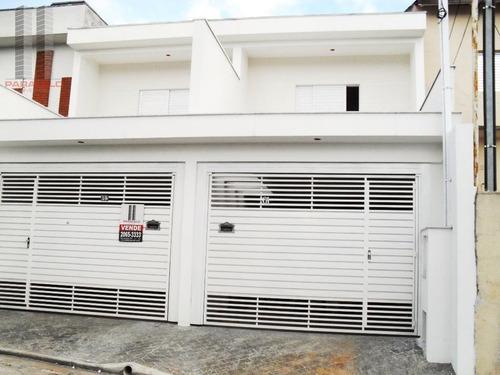 Sobrado Residencial À Venda, Moóca, São Paulo. - So0622
