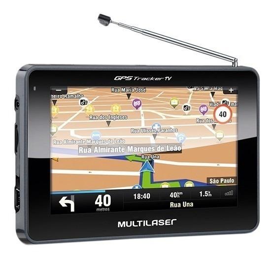 Gps Automotivo Multilaser Gp034 C/tv Digital 4.3 Avisa Radar