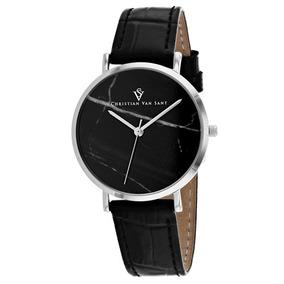 c5282e473445 Reloj Pulsera Christian Van Sant Lotus Cv0421bk Para Mujer