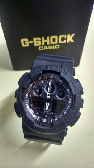 Relógio G-shock Preto Fosco