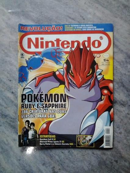 Nintendo World #54 Pokemon Ruby E Sapphire