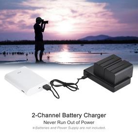 Fb Np Fw50 Carregador Bateria Câmera 2- Micro Canal Da Manch