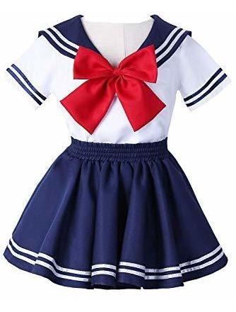 Joyshop Anime Ninos Escuela Uniforme Marinero Vestido