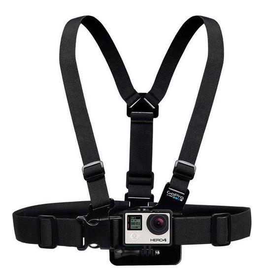 Cinturão De Fixação Peitoral Chesty Gopro, Preto Gchm30-001