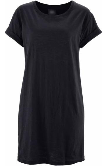 Kit 3 Camiseta Vestido Feminina