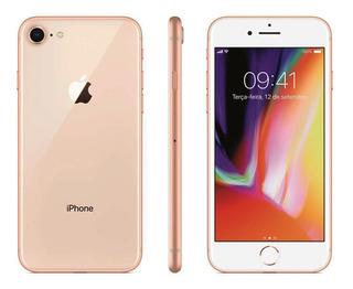 Celular Apple iPhone 8 64gb 2gb Ram 12mp Tela 4.7 Dourado