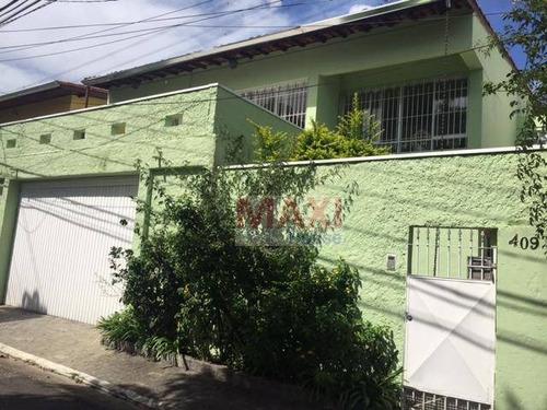 Casa Residencial À Venda, Parque Continental, São Paulo. - Ca0080