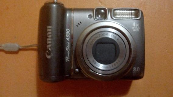 Cámara De Fotos Canon Powershot A590