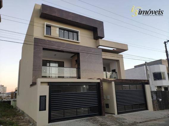 Apartamento À Venda Térreo, Com Uma Suíte Mais 2 Dormitórios No Centro De Balneário Piçarras - Sc - Ap1703