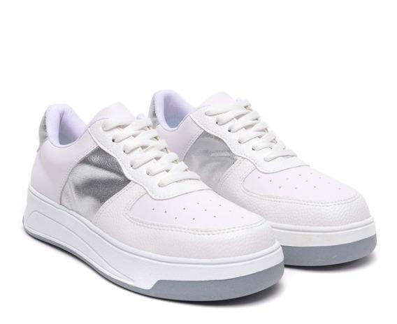 Zapatillas Mujer Plataforma Sneakers Urbanas Colores Heben