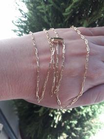 Corrente Masculina Modelo Cartier Banhada A Ouro 18k Cordão