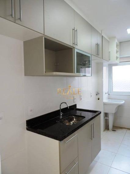 Apartamento Com 3 Dormitórios À Venda, 72 M² Por R$ 420.000,00 - Residencial Felicitá - Louveira/sp - Ap0606