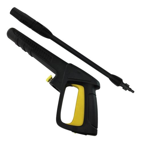 Imagem 1 de 7 de Pistola Com Lança Para Lavadora Alta Pressão Makita Hw102