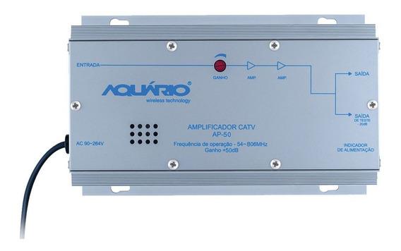Amplificador De Potência Catv Frequência 54-806mhz 50db Ap-5