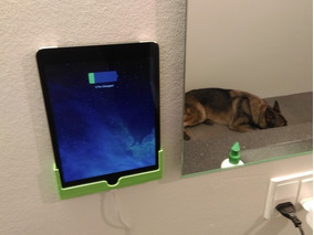 Suporte Dock De Parede iPad Ou Samsung (todos Modelos)