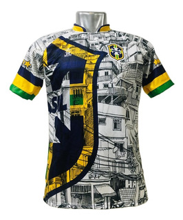 Camisa/camiseta Brasil Favela - Seleção Brasileira Torcedor