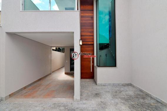 Casa 03 Quartos Moderna À Venda, Bairro Planalto, Belo Horizonte - Mg. - 5743