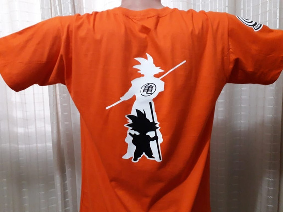 Camiseta Ou Babylook Goku - Adulto, Infantil